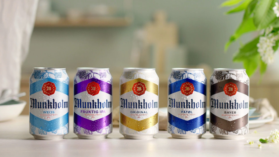 Summer campaign for the Munkholm series
