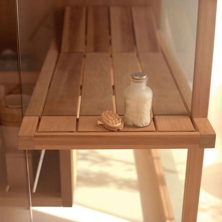 Towel Holder & Shelf