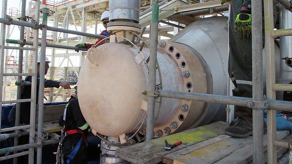 High-pressure equipment