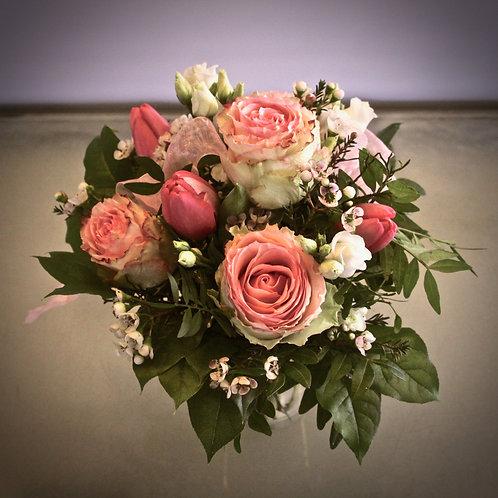 Blumenstrauß mit Esperance Rosen