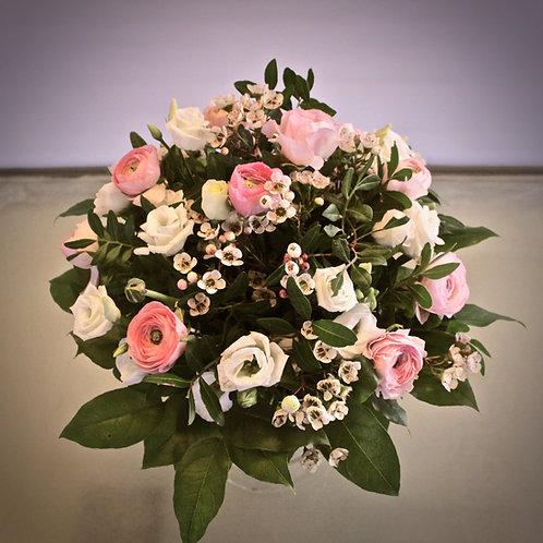 Blumenstrauß in Rosé