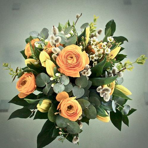 Blumenstrauß gelb/orange