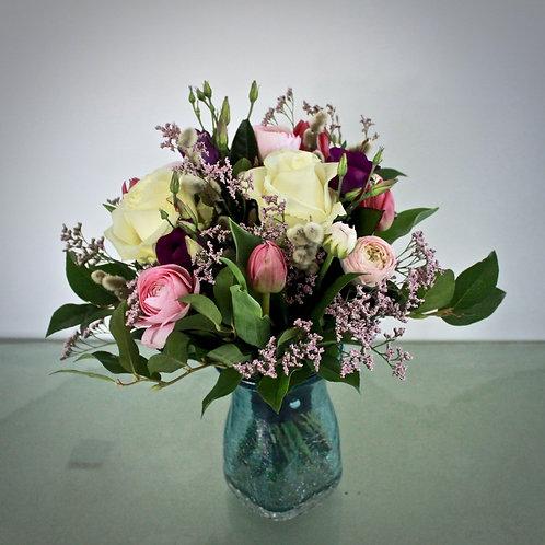 Blumenstrauß rosa/lila/weiß