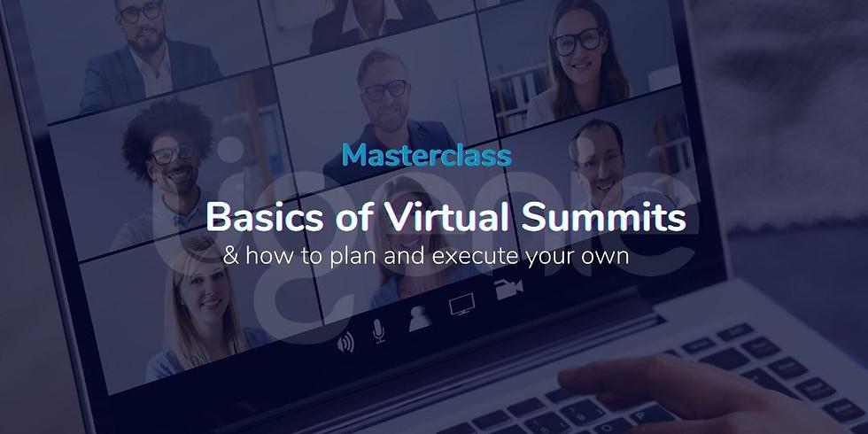 Basics of Running a Virtual Summit