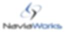 NaviaWorks Logo Dark Grey Dark Blue Shad