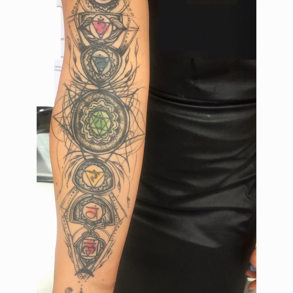 Chakra for Dawn Tattoo