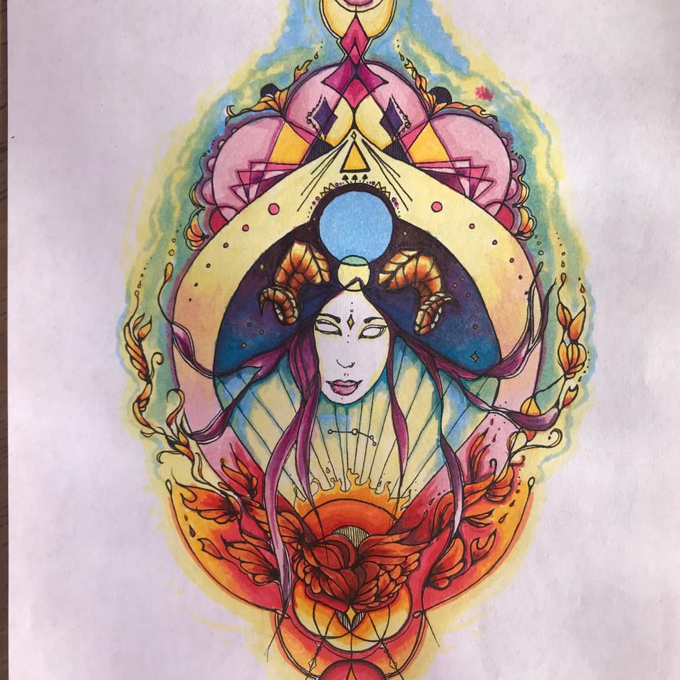 Aries Goddess for Alanna