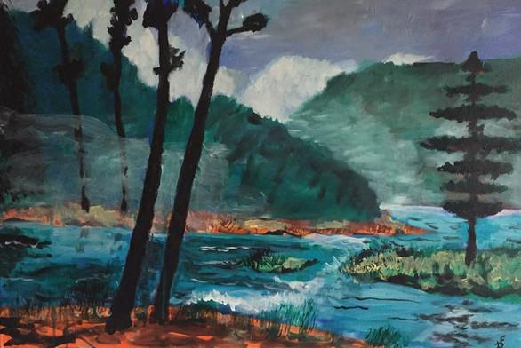 A l'embouchure du Napiscau