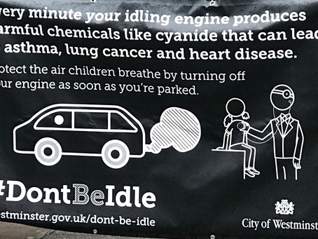 IDLING YOUR ENGINE IS ILLEGAL - PLEASE STOP!