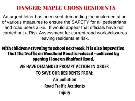 SAVE MAPLE CROSS FROM R.T.A's & POLLUTION