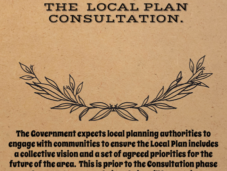 TRDC WE WANT TO JOIN YOU TO CREATE AN EXCELLENT LOCAL PLAN