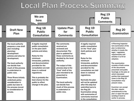 SUMMARY OF THE LOCAL PLAN PROCESS