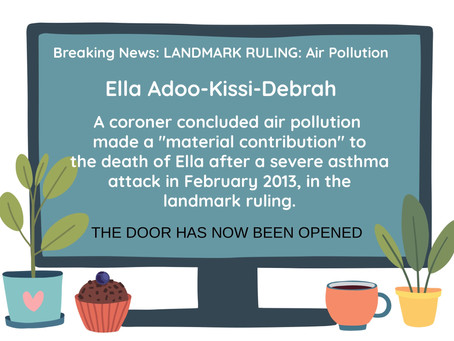 Air Pollution cited as Cause of Death
