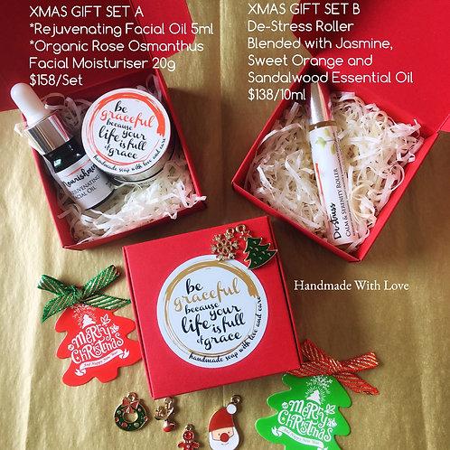 Natural Skincare Xmas Gift Set 天然護膚聖誕套裝A, B