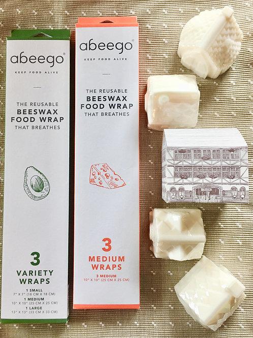 Beeswax Food Wrap X Tea Tree Antiseptic Home Soap