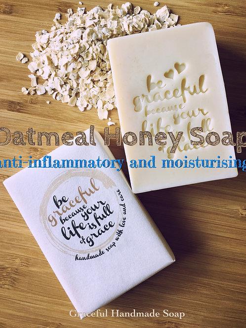 Oatmeal Honey Soap 燕麥蜂蜜保濕皂