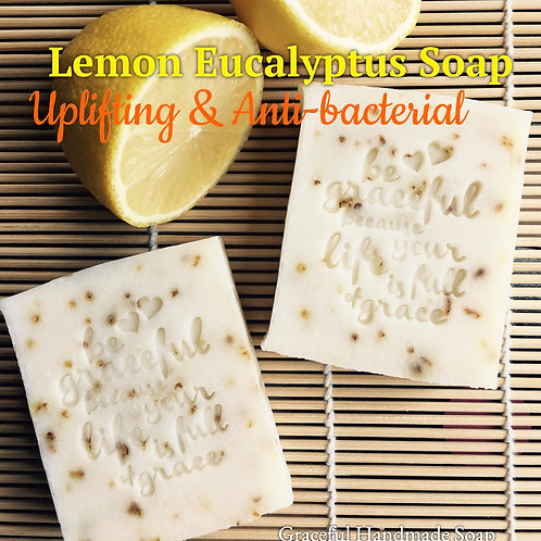 Lemon Eucalyptus Soap 檸檬尤加利提神滋養皂