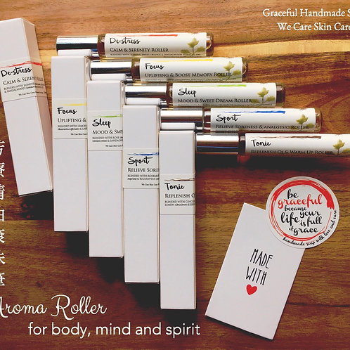 Set of 5 Aroma roller 一套5支芳療精油滾珠筆