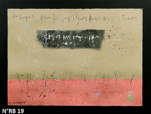 Petit format bois 30x40cm N° RB19