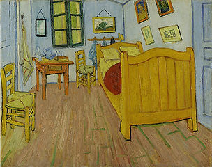 The Bedroom by Vincent van Gogh, 1888