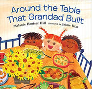 Around the Table the Graddad Built by Me