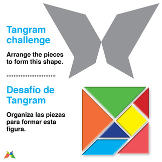 Tangram butterly