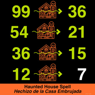 Haunted house spell_puzzle and solution.