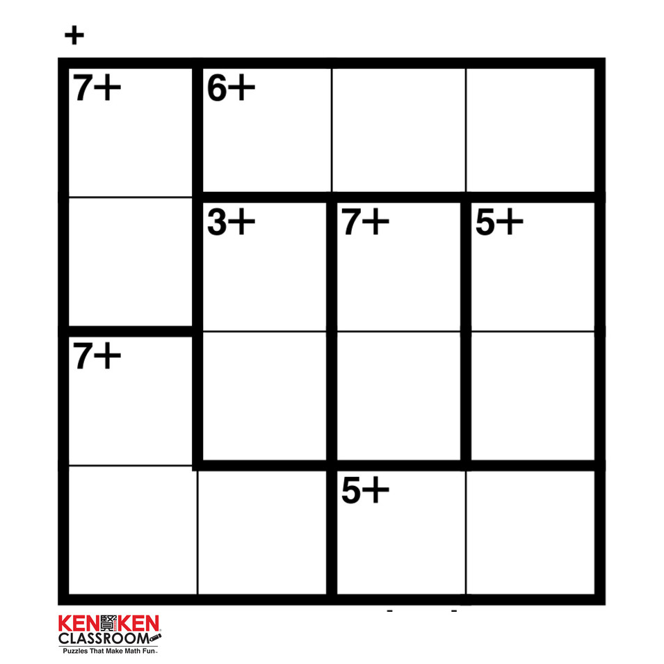KenKen 4x4