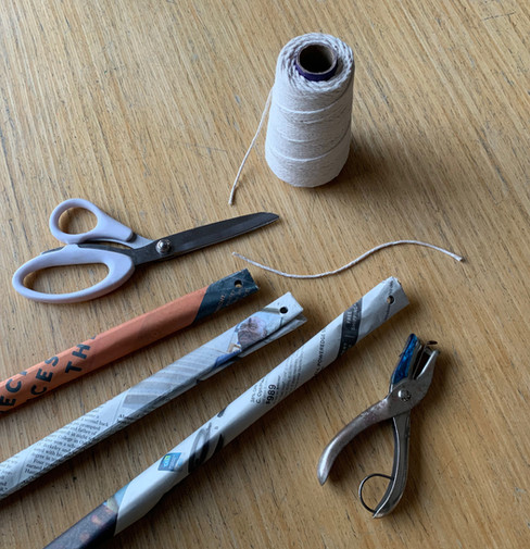 Scissors, hole punch string.jpeg