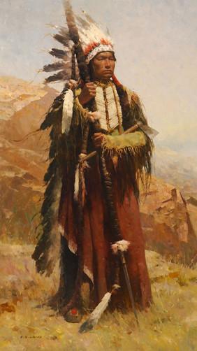 ARAPAHO WAR CHIEF