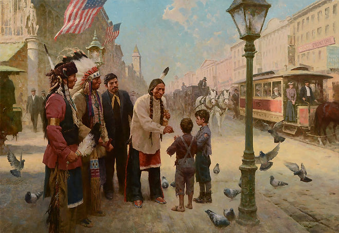 49. Sitting Bull's Kindness, Philadelphi