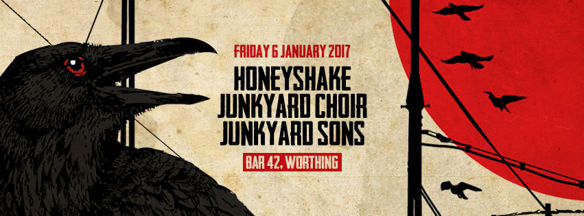 Junkyard Sons first gig of 2017