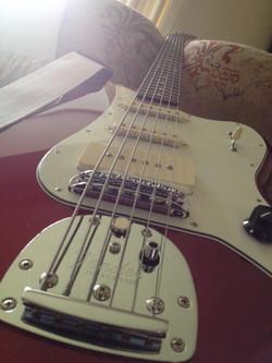 Rod's Metallica Red Bass VI