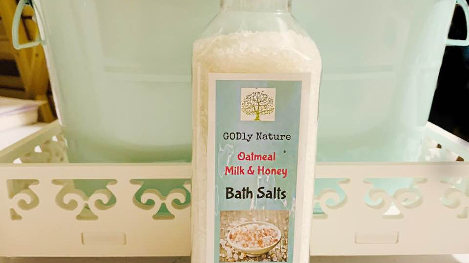 Oatmeal Milk & Honey Bath Salts