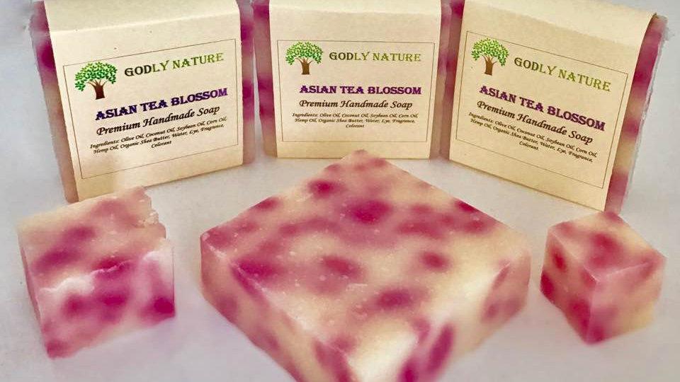 Asian Tea Blossom Premium Handmade Soap