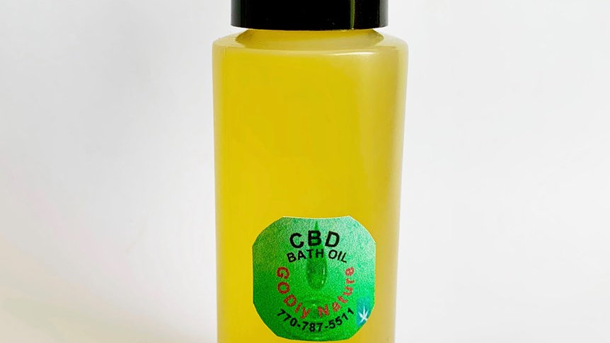 CBD Bath Oil (2 ounces)