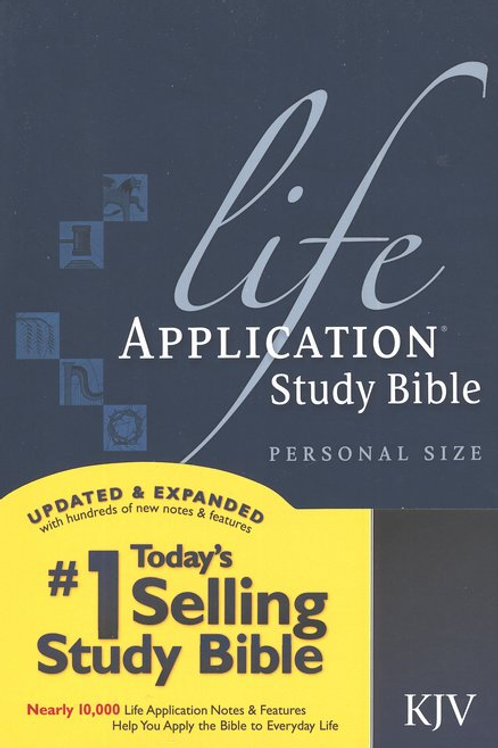KJV Life Application Bible, personal size, softcover