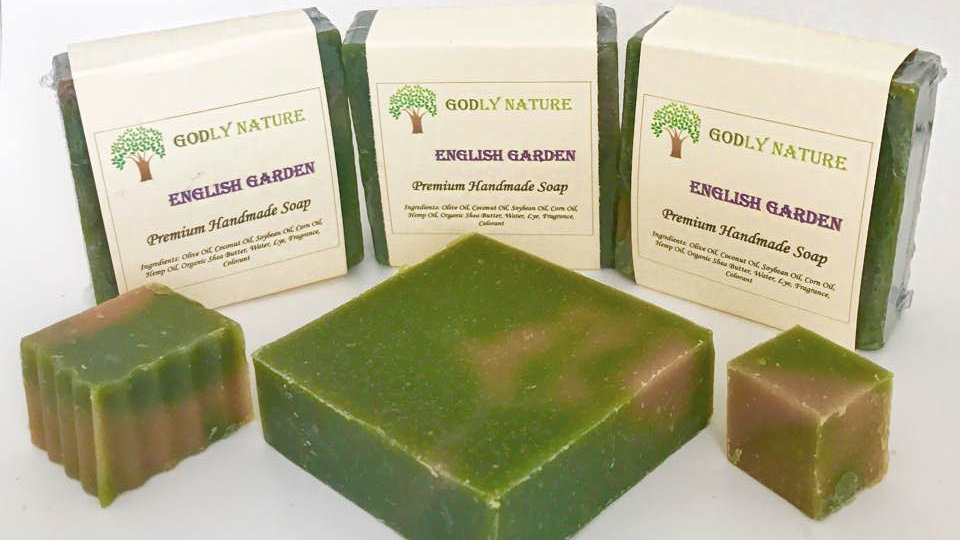 English Garden Premium Handmade Soap