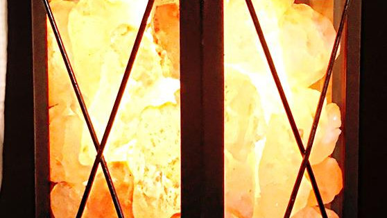 Himalayan Salt Lamp - The Spanish