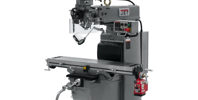 JTM-1050EVS2/230 MILL WITH 2-AXIS ACU-RITE MILPWR G2 CNC CONTROLLER AND AIR POWE