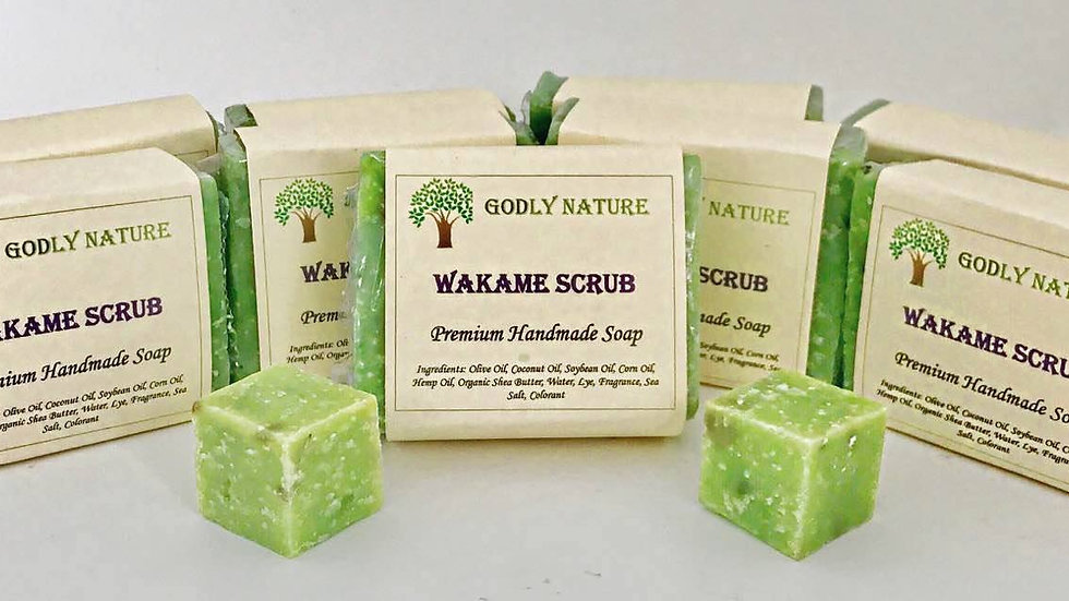 Wakame Scrub Premium Handmade Soap