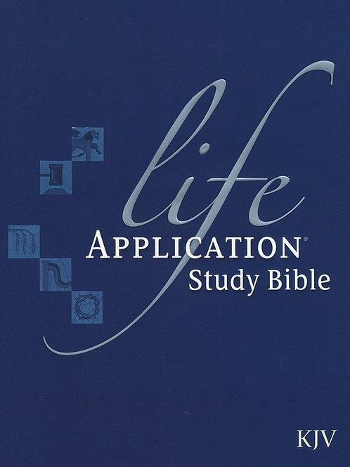 KJV Life Application Study Bible, Hardcover
