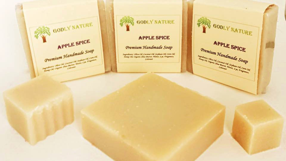 Apple Spice Premium Handmade Soap