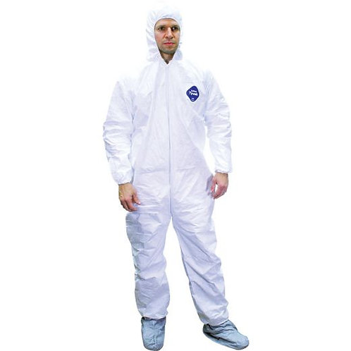 PPE #4(a) USiM Tyvek 400 Coveralls with Hood & Boots