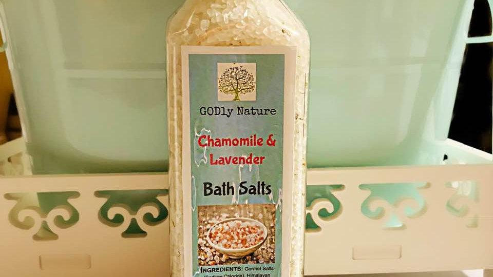Chamomile & Lavender Bath Salts