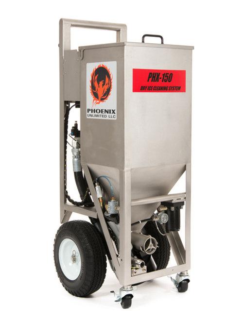 Dry Ice #1(a) - USiM Heavy Duty Pneumatic Phoenix Dry Ice Blasting Machine