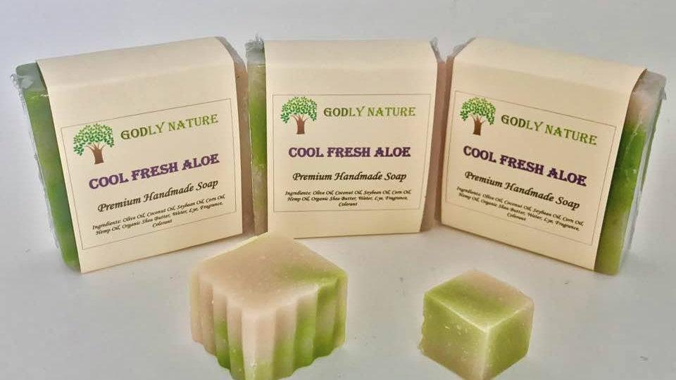 Cool Fresh Aloe Premium Soap