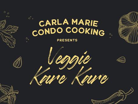Carla Marie Condo Cooking: Veggie Kare-Kare