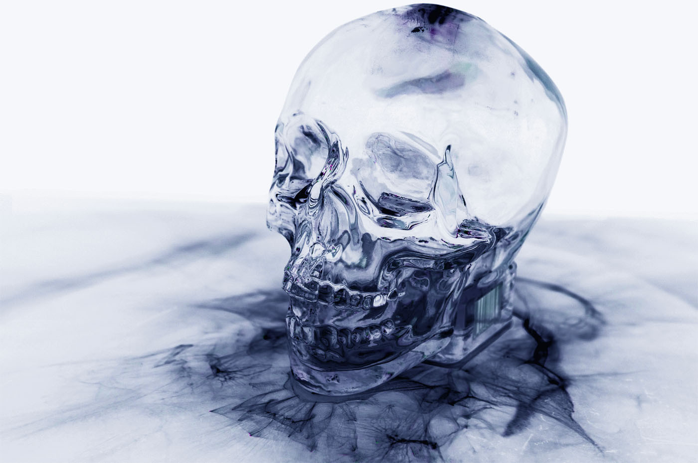 Negative Skull (Upright)