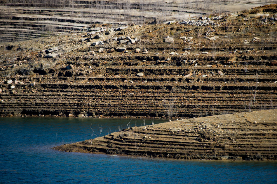 Drought Condition (Lake Castaic)